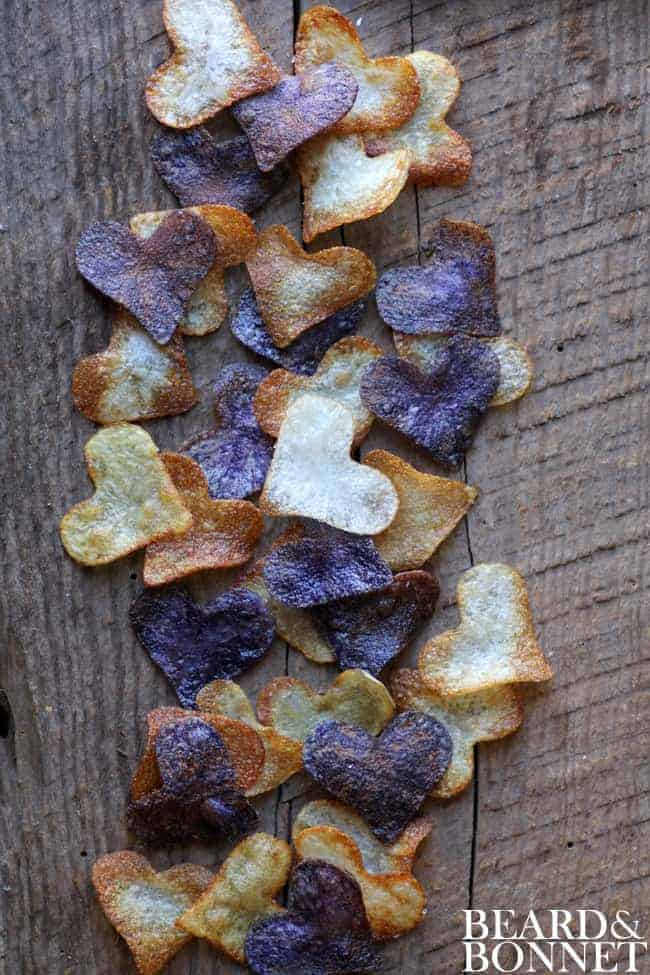 10 Recipes To Make A Teen When One Direction Breaks Up: Small Batch Potato Chips {@beardandbonnet }