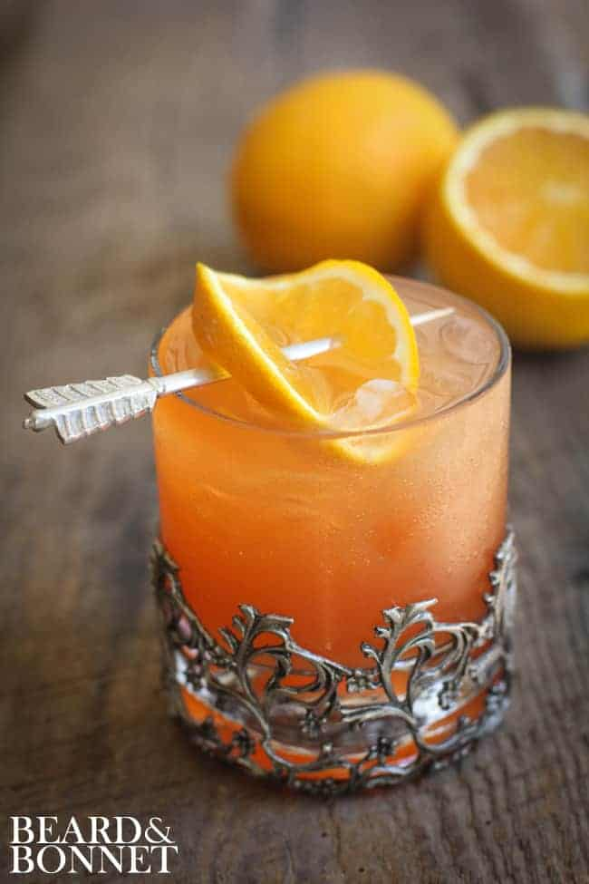 Blood Orange Margarita {Beard and Bonnet} #glutenfree #vegan