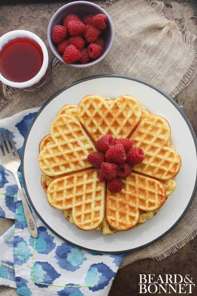 America's Test Kitchen's Gluten Free Buttermilk Waffles and How Can It Be Gluten Free Cookbook Giveaway {Beard and Bonnet}