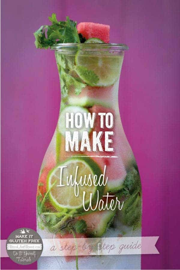 How To Make Infused Water {Beard and Bonnet}
